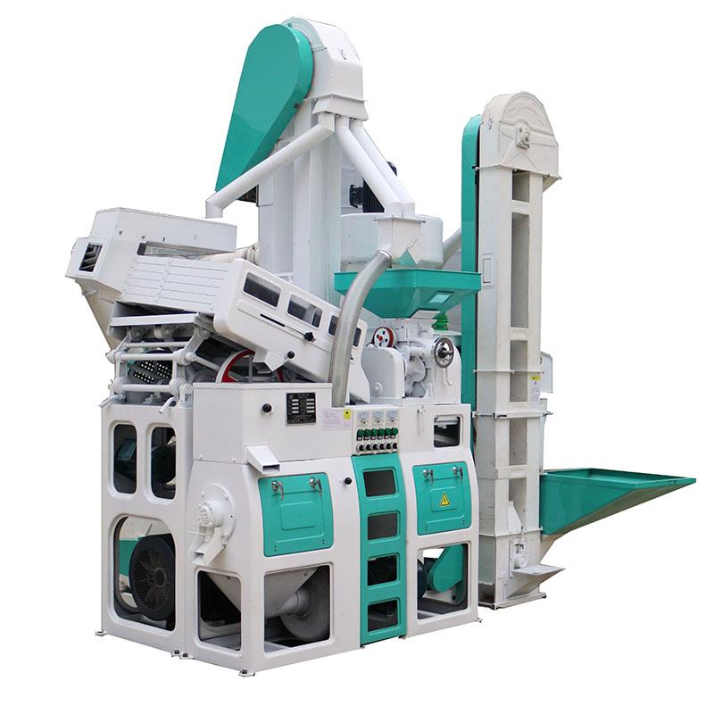 1 Ton Per Hour Capacity Combined whole set rice mill machine 4