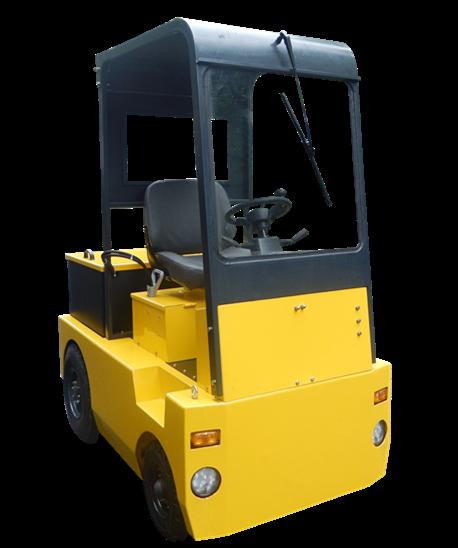 Medium 4-wheel Electric Tow Tractor  1