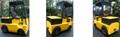 Medium 4-wheel Electric Tow Tractor  2
