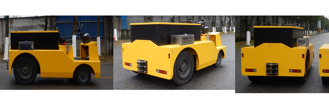 (Large)4-wheel Electric Tow  Tractor 2