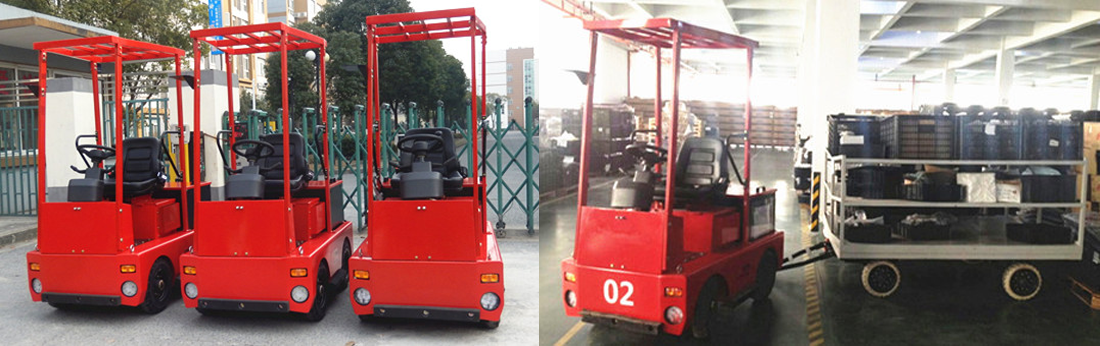 2-5T 4-Wheel Electric Tow Tractor 2