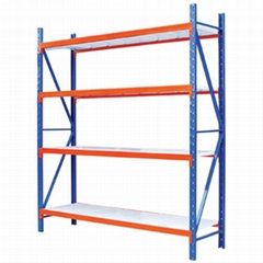 powder coated steel boltless warehouse storage racking and shelving