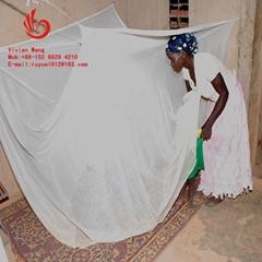 出口非洲含殺虫劑長效防虫蚊帳LLINs