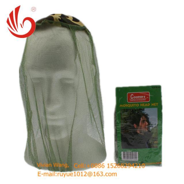 black/green mosquito head nets bug off cap 2