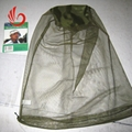 black/green mosquito head nets bug off cap 3