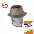 black/green mosquito head nets bug off cap 4