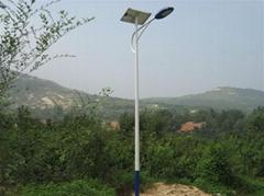 鋰電池LED太陽能路燈