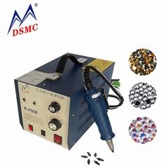 Ultrasonic hot fix rhinestone machine