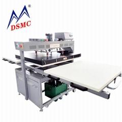 Hydraulic double side duplex heat press transfer machine