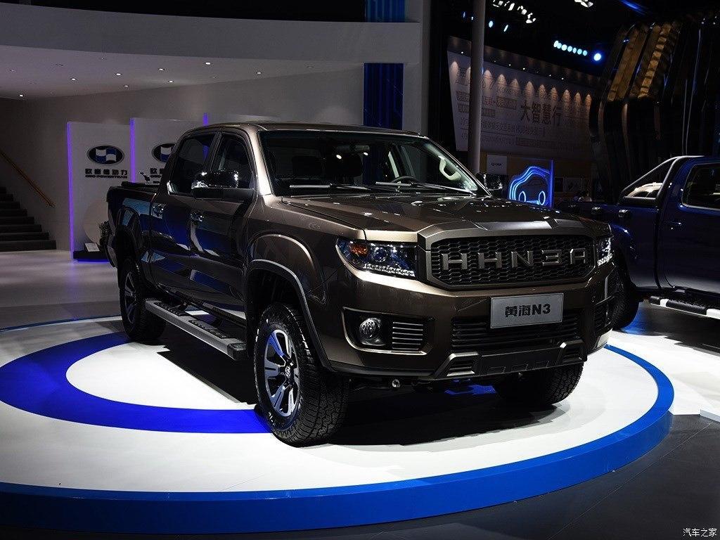 黄海VM欧4柴油发动机双排越野全新N3皮卡四驱美式 1