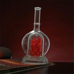厂家供应玻璃工艺酒瓶