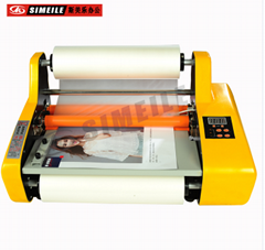 Hot Roll Laminator A2 A3 size Single side and Double sides roll laminator FM3510