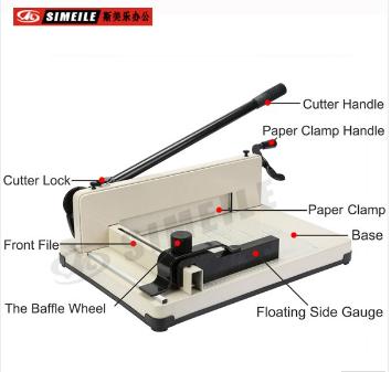Scrapbooking Metal Base Trimmer stack paper cutter 1