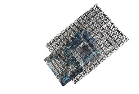网格导电塑料袋 半导体精密仪器导电包装袋 PC板包装胶袋 1