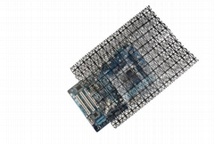 网格导电塑料袋 半导体精密仪器导电包装袋 PC板包装胶袋