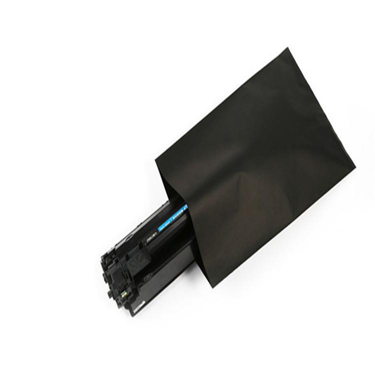 黑色導電PE袋 感光敏感遮光產品專用PE黑色塑料袋 硒鼓黑色導電膠袋 1