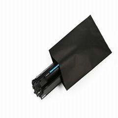 黑色导电PE袋 感光敏感遮光产品专用PE黑色塑料袋 硒鼓黑色导电胶袋