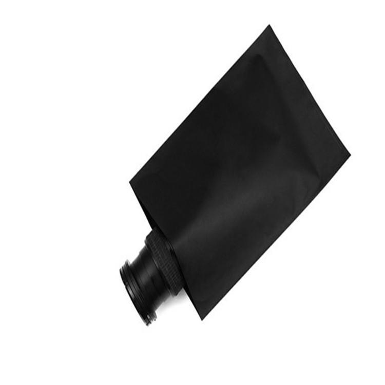 黑色导电PE袋 感光敏感遮光产品专用PE黑色塑料袋 硒鼓黑色导电胶袋 2