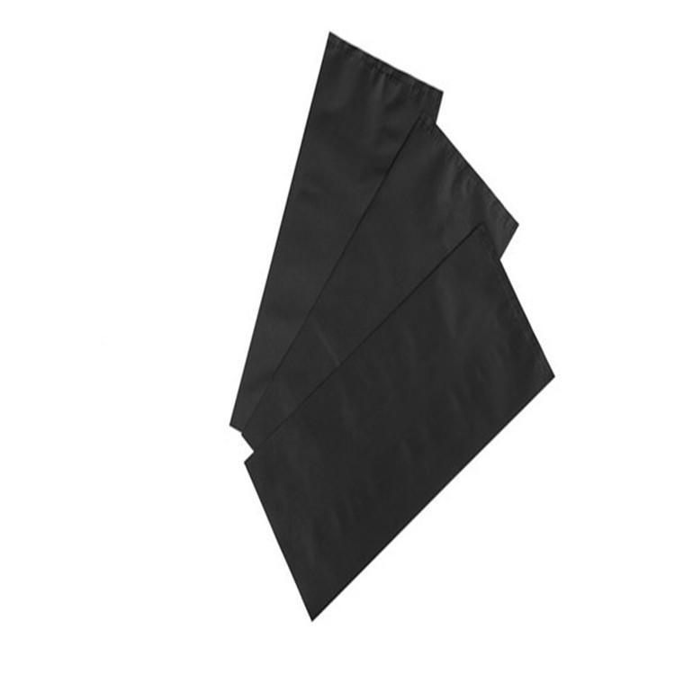 黑色导电PE袋 感光敏感遮光产品专用PE黑色塑料袋 硒鼓黑色导电胶袋 3