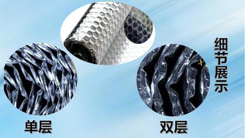 供应国内外铝箔气泡建筑保温隔热材料 1