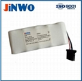 NKB-301V 2800mAh 12v medical battery pack NI-MH for Nihon Kohden Defibrillators