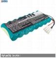 9.6v 2000mAh nimh battery pack 8-HRAAFD