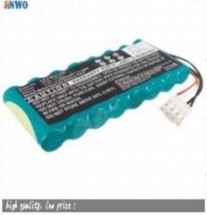9.6v 2000mAh nimh battery pack 8-HRAAFD for Fukuda Denshi ECG Machines FX-2111