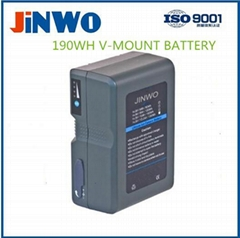 160WH Sony V- Mount Li-ion Broadcast Battery for DSLR Camera, LED Light Battery