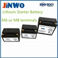 Motorcycle Lithium Ion Starter Battery