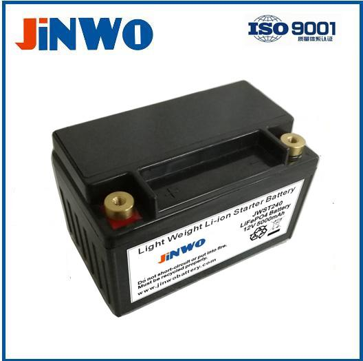 Lithium Motorcycle replacement Battery 4S2P 12V 5Ah  Lithium-ion start battery