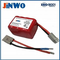 LiFePO4 Motorcycle Battery Cranking Amps 360A Lithium Starting Battery 12V 7.5Ah
