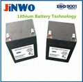 SLA Battery Replacement LiFePO4 Lithium ion Battery 12V 5Ah Alarm Battery