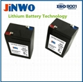 Exit Signs LiFePO4 Lithium Ion Battery