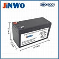 12V LiFePO4 Battery 7Ah 7.5Ah for Alarm Systems Lead Acid Replacement Battery  1