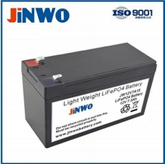 LiFePO4 Battery 12V 7Ah Manufacturer For LED Advertising Light Box