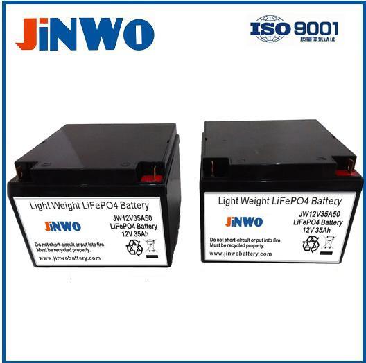 Integrated Solar LED Street Light 12V 24Ah Lithium Ion Battery for Solar System