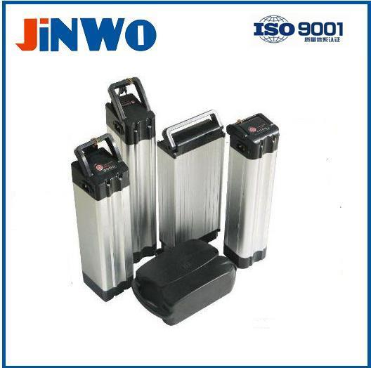 High Performance Electric Bike Battery 48V 10Ah Rear Luggage Carrier Rack Casing