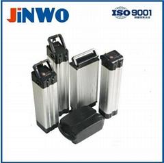 High Performance Electric Bike Battery 48V 10Ah Rear L   age Carrier Rack Casing