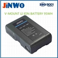 Video Camera Battery Broadcasting Camera Battery V Mount Battery 14.8V 65Wh-95Wh