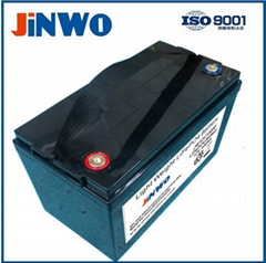Lithium Ion Battery 12V 100Ah / Lifepo4 12V 100Ah Solar Storage Battery