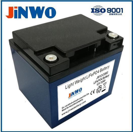 LiFePO4 12V 35Ah 24-35ah Battery for RV / Marine Boats Lithium Iron Phosphate