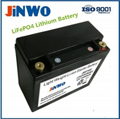 Ultra High Performance Lithium Ion Phosphate Race Car Battery 12V 10Ah PbEQ 40Ah