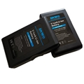 Broadcasting Video Camera Battery 95wh V Lock Li Ion Battery 14.4V 6.6ah Pack