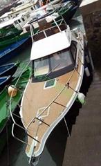 11.2米豪華玻璃鋼游釣艇飛橋快船內外機皆可個性化內飾臥室衛生間