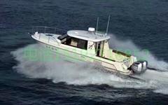 9米玻璃钢高速游艇