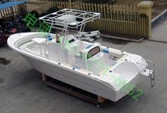 7.2米玻璃钢钓鱼艇