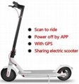 sharing electric scooters