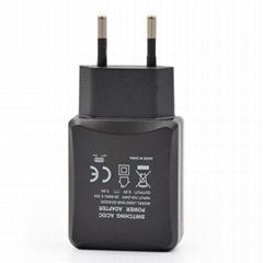 10W欧规GS&CE直插电源适配器