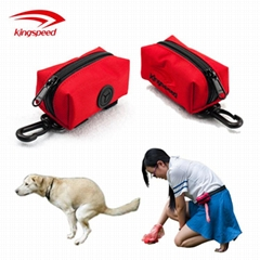 Well-received Style Heavy-duty Polyester Ziplock-style Pet Poop Waste Bag holder