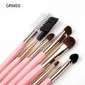 7pcs Makeup Brushes Tool Blending eyeshadow Blush eyelashes cosmetics makeup